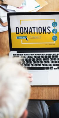 Designate charitable organizations to friends and loved ones to donate in your name